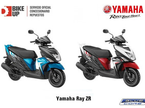 Yamaha Ray Zr - Empadrona Gratis - Tomamos Tu Moto - Bike Up