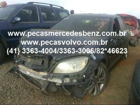 Mercedes C350 C180 C200 Kompressor Sucata Para Pecas / Motor