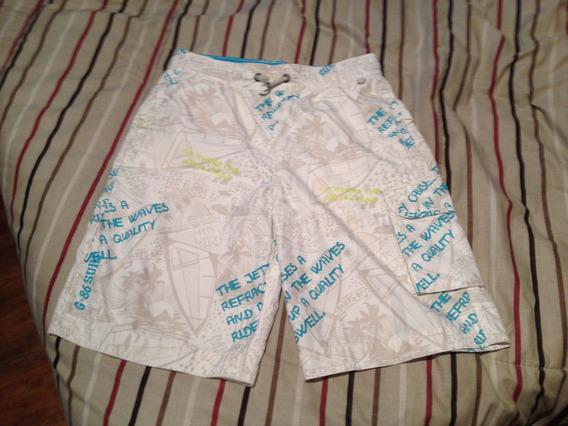 Short De Baño Gap Kids. Talle 12. Sin Uso, Impecable!