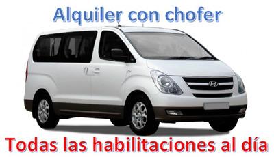 Alquiler De Camioneta Con Chofer, Hyundai H1