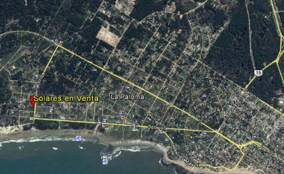 La Paloma Playa Anaconda Terreno De 1.500 Mtrs