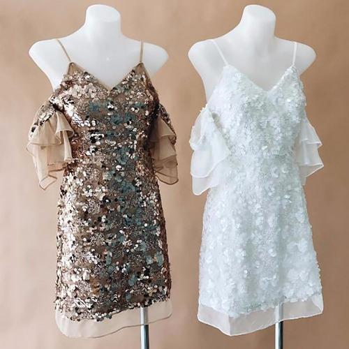 Vestidos Lentejuelas Tul Vestidos Cortos Para Mujer En