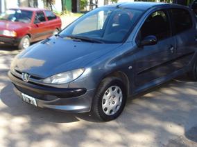 Peugeot 206 1.9d X-line 2006 Gris Oscuro