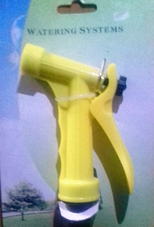 Pistola De Riego Para Mangueras Ideal Jardin Plantas Cesped