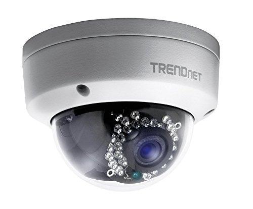 Trendnet Indoor/outdoor 1.3 Megapixel Hd Poe Ir Dome Style