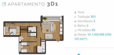 Apto 2 Dormitorios Nostrum Centenario P1