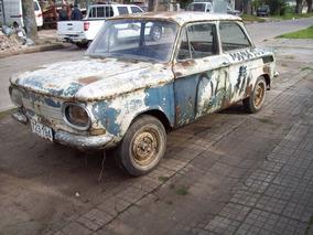 Nsu Prinz 1000cc --4 Tt -1965--autos De Coleccion--