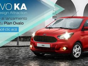 Ford Nuevo Ka 2018 100 Finanaciado, Minimo Anticipo!!!