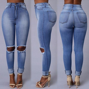 e195f43f8f3da Jeans Blancos Rotos Dama - Pantalones para Mujer en Cerro Largo en ...
