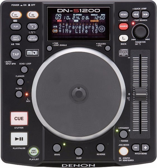 Denon Dns 1200 Cd/mp3/usb Controlador