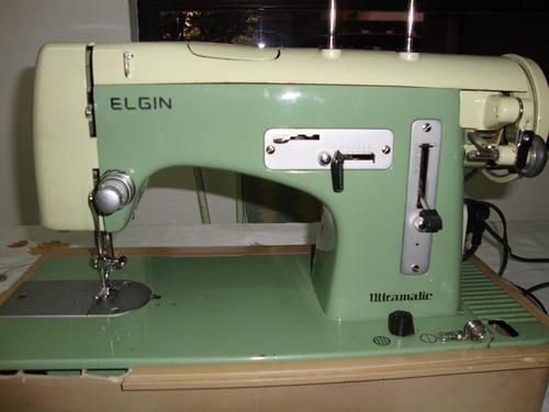 Maquina De Coser Elgin Con Todos Los Accesorios - $ 3.000