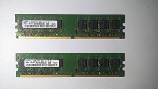 Memorias Ram Samsung - Ddr2 De 1gb - 533 Y 667 Mhz