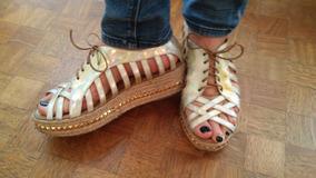 Espectaculares Sandalias Cuero!!!