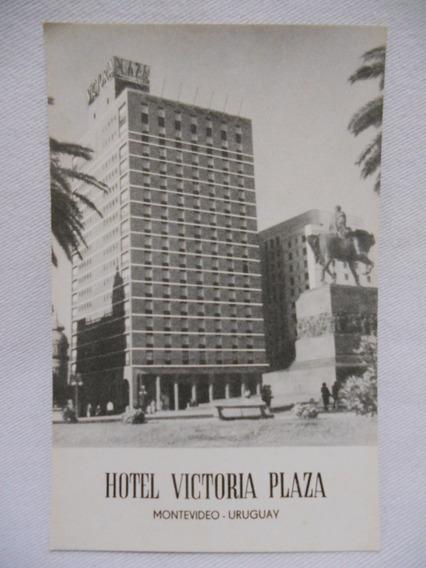 Postal Antigua Montevideo Hotel Victoria Plaza Con Sobre