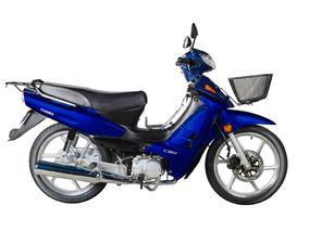 Moto Yumbo Pollerita C 110 Dlx Llantas De Aleación + Casco