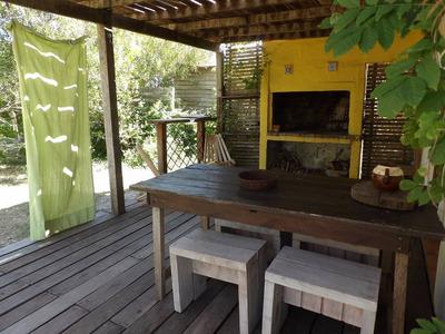 Valizas Alquiler Cabaña Casa Muy Calida 100m Playa Rocha