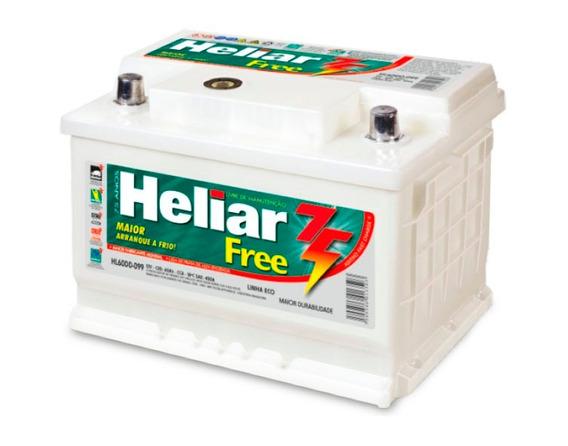 Batería Heliar 12v 130amp. Derecha
