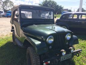 Jeep Willys 75 Capota Conversivel 6 Cilindros Original