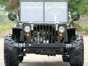Cuatriciclo Atv Titan Mini Jeep Willys 110 Cc