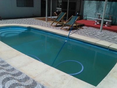 Alquiler Canelones Costa Azul Con Picina .dos Cuadras Playa