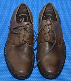Zapatos De Hombre Marrones De Cuero Hush Puppies Talle 40-41