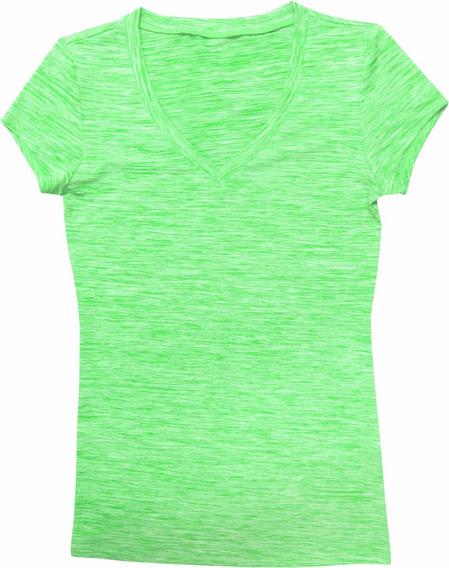 Camiseta Dry Dama Y Caballero Jaspeada. Accesostore.uy
