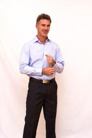 Camisa Cantoni Celeste