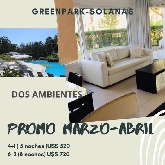 Green Park, Solanas- 2 Amb.planta Bajas Max.6 Personas
