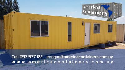 Casa Contenedor 40 Pies - 2 Dormitorios, Baño Y Cocina