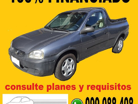 Chevrolet Corsa Pick-up 100% Financiada Solo $ 5200 Por Mes