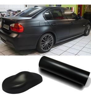 Vinilo Adhesivo Negro Mate Auto Ploteo Negro Mate X 0.50 Mtr