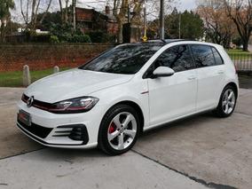 Volkswagen Golf 2.0 Gti Tsi 2018 3800 Km (( Gl Motors ))