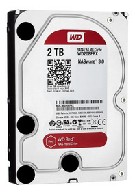 Disco Duro Hdd 3.5 Wd Red 2tb Sata3 Intellipower Para Nas