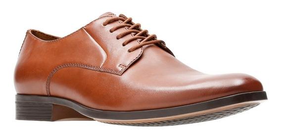 clarks calderon limit hombre zapatos deportivos marrón