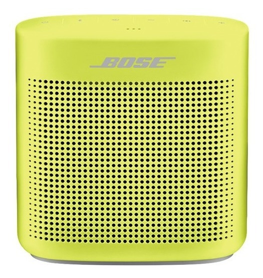 Parlante Bose Soundlink Colour 2 Bluetooth Portátil Citron