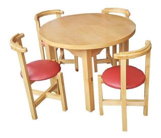 Juego De Comedor (4 Sillas Y 1 Mesa) De Ikea - Hogar ...