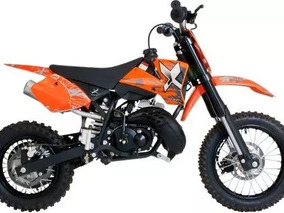 Mini Moto Off Road Minicross 50cc Mxf 0 Km - Motor 2 Tiempos