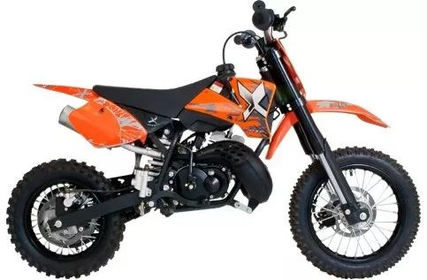 Mini Moto Off Road Minicross 50cc Mxf 0 Km - Motor 2 Tiempos