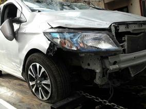 Chevrolet Onix 1.4n Ltz 2014 Chocado Baja Con Alta De Motor.