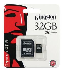 Memoria Microsd Kingston 32gb Clase 10 Sd Oferta Loi