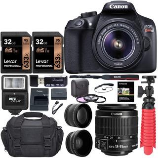 Camara Canon T6 Reflex, La Mejor Imagen En Fotografía Kit