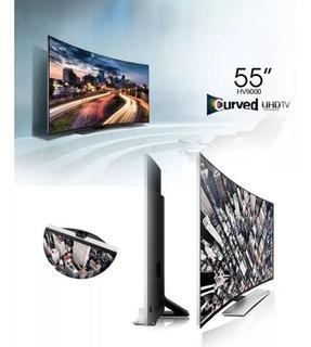Smart Tv Curvo Full Hd 3d 4k 55¨ Samsung Hu9000