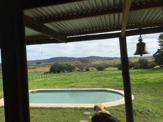 Alquilo Hermosa Chacra, Con Piscina A 22 Km De Portezuelo