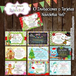 Tarjetas De Navidad Personalizadas En Mercado Libre Uruguay