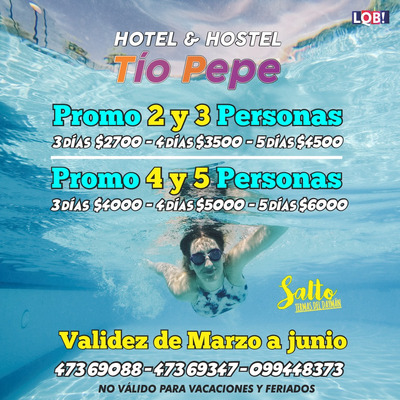 Termas Del Daymán: Casa, Hotel, Hostel, Bugalows
