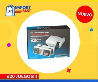 Video Juego Mini Clasic Retro 620 Juegos