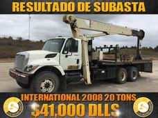 Grua Titan International 2008 20 Tons,resultados De Subasta