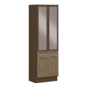 Modular 4 Puertas Cedro Wood Sin Brillo