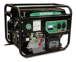 Generador Montana 6500 W - Arranque Electrico - 8hs De Uso