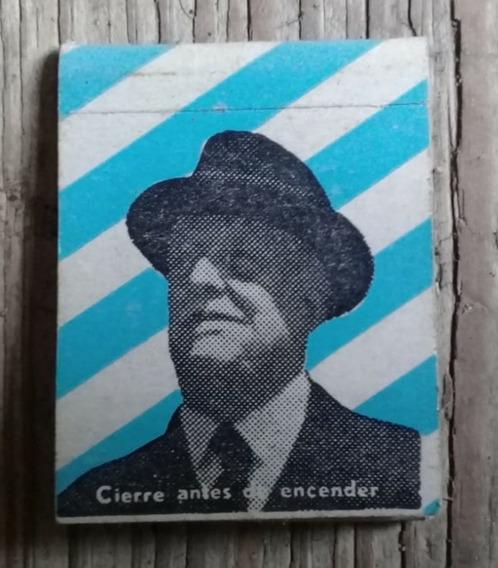 Propaganda Antigua Caja Fosforos Partido Nacional Herrera